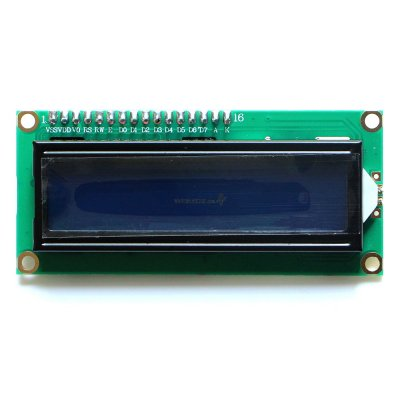 IIC / I2C 1602 Blue Backlight LCD Display M
