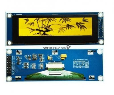3.12 inch 16P SPI Yellow OLED Module SSD132