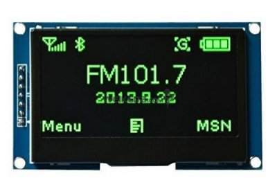 "2.42""12864 Green OLED Display Module FOR"