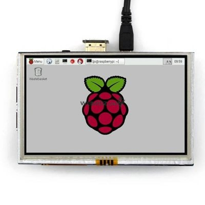 "5"" 800 x 480 HDMI TFT LCD Touch Screen Fo"