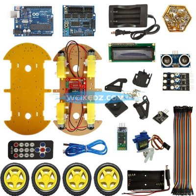 Multifunction Bluetooth Controlled Robot Sm