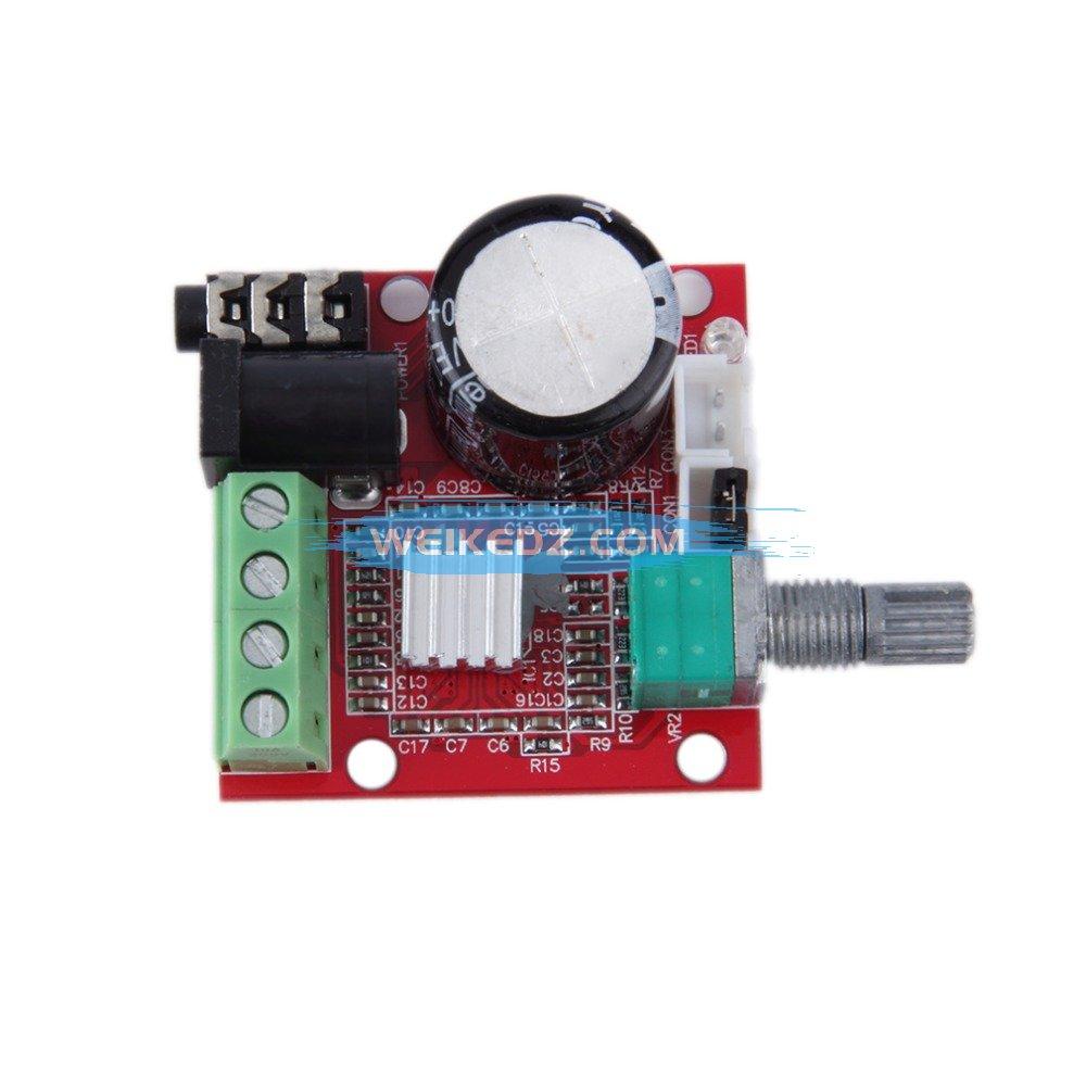 Mini HiFi Amplifier Board 2*10W Dual Channel Hi Fi PAM8610