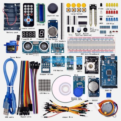 T51 Super Mega 2560 Starter Kit for Arduino