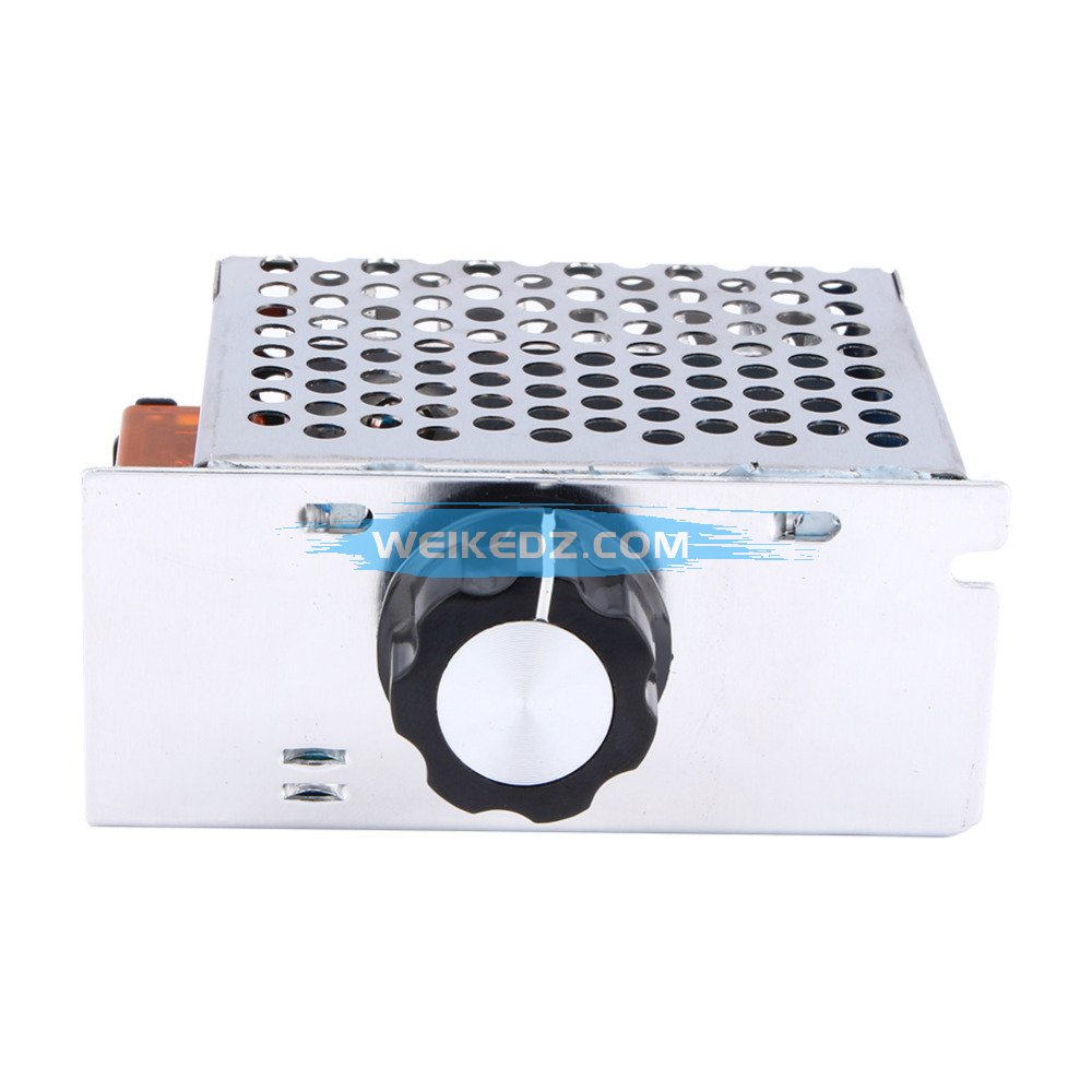 4000w 220v Ac Scr Voltage Regulator Dimmer Electric Motor Speed Picture Control Of Using Controller
