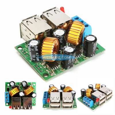 USB Step-down Power Supply Module New DC 12