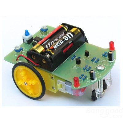 Robot Car Electronic DIY Kit With Reduction