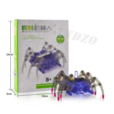 DIY Assemble Intelligent Electric Spider Ro