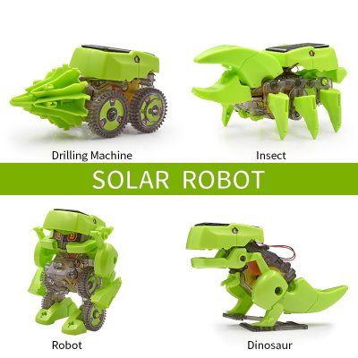 4 in 1 DIY Educational Solar Powered Robot
